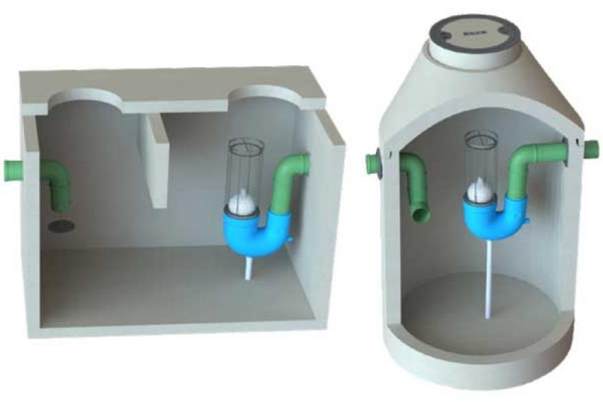 Μικροί Διαχωριστές Υδρογονανθράκων -  Ελαιοδιαχωριστές